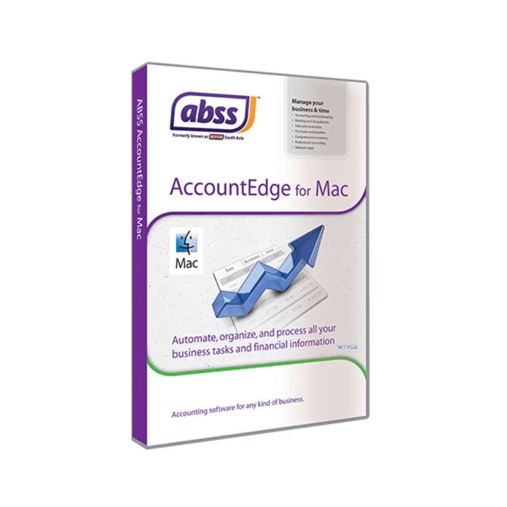 ABSS Accountedge for MAC